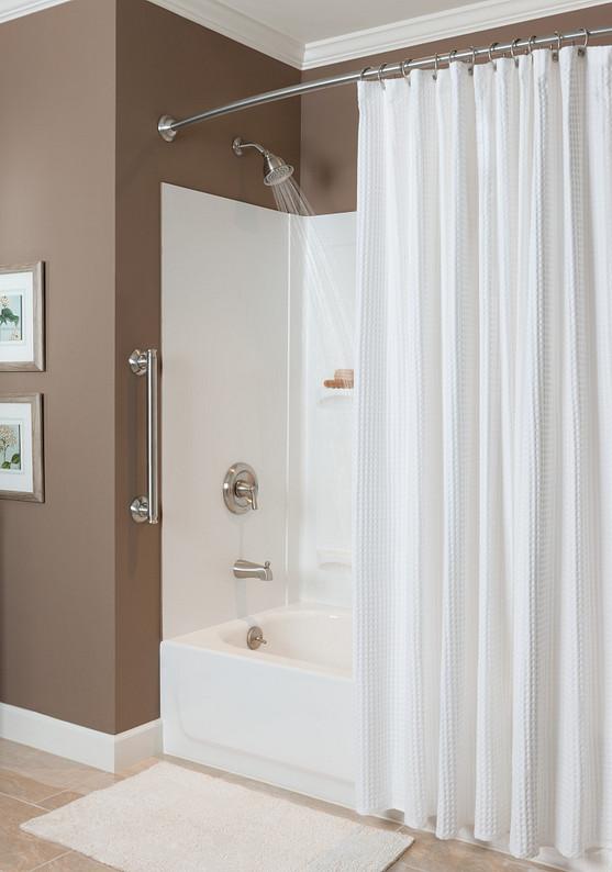 Banbury Brushed Nickel Grab Bar Bath Safety