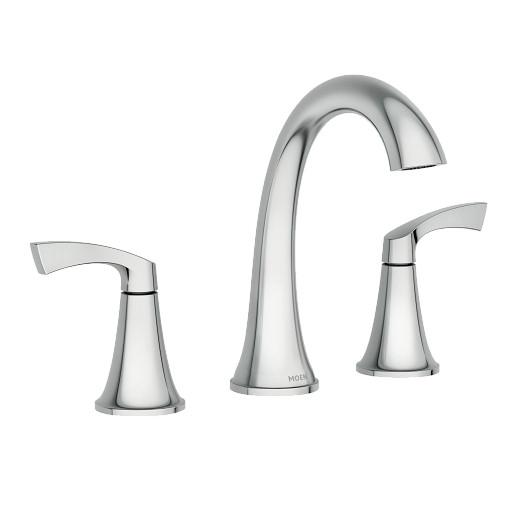 Korek™ Widespread Bathroom Faucet Spot Resist™ Chrome