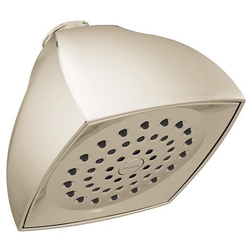 "Moen Polished Nickel One-Function 4-1/16"" Diameter Spray Head Eco-Performance Showerhead"