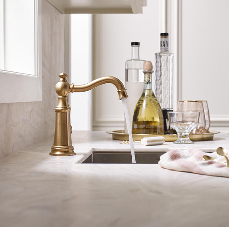 The comforts of home in traditional design faucets