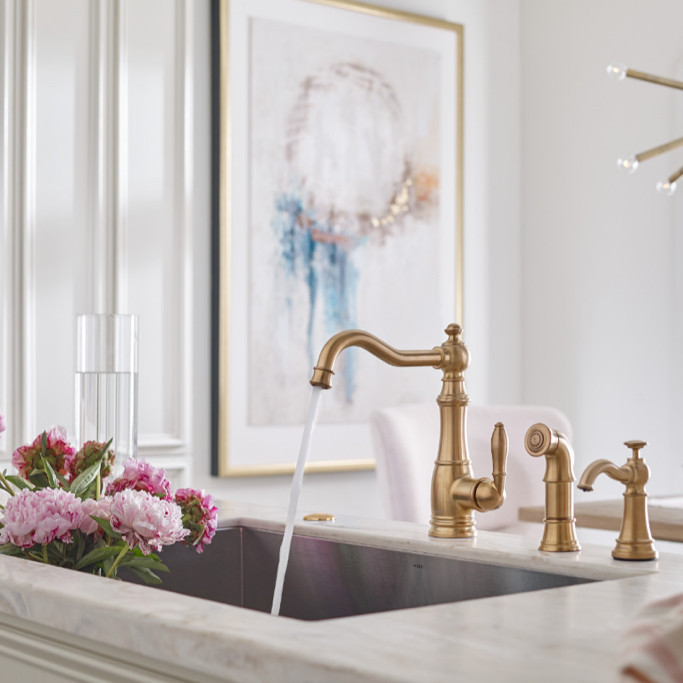 Weymouth kitchen sink faucet