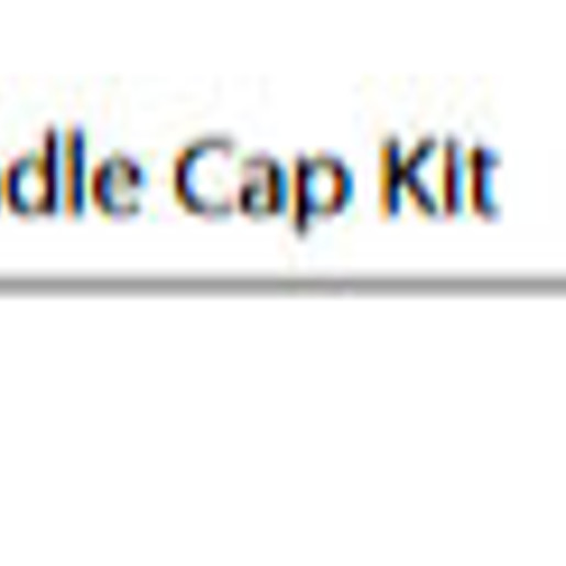 Weymouth Hot and Cold Handle Cap Kit