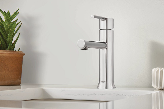 90 Degree Chrome Faucet