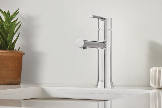90 Degree Chrome Faucet Bath Collection