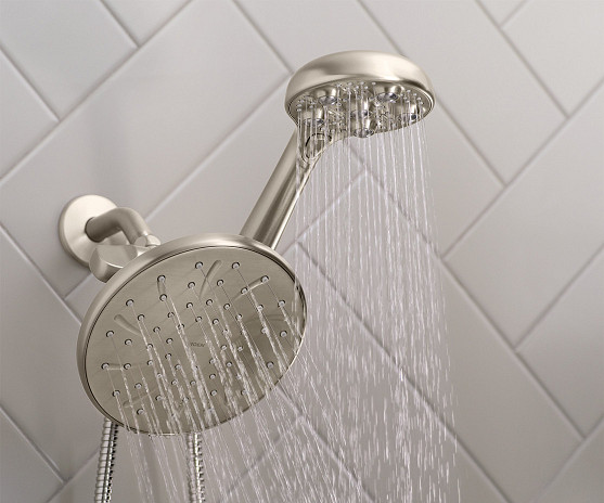 Try the Hydro Roller massaging showerhead