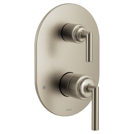 UTS3311BN - Arris Brushed Nickel M-CORE 3-Series With Integrated Transfer Valve Trim
