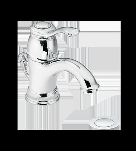 5oclock Kingsley Chrome One-Handle Low Arc Bathroom Faucet
