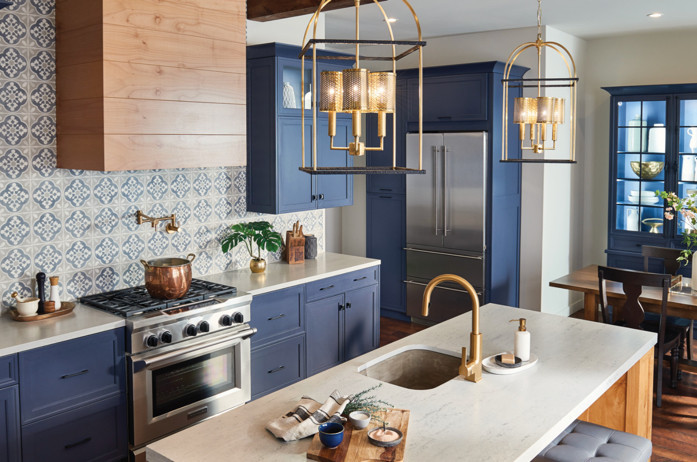 7 Design Tips for Mixing Metals in the Kitchen and Bathroom Decor