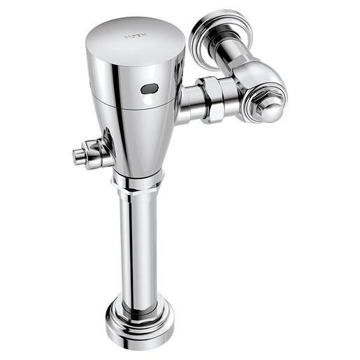 "M-POWER Chrome electronic flush valve 1 1/2"" water closet"