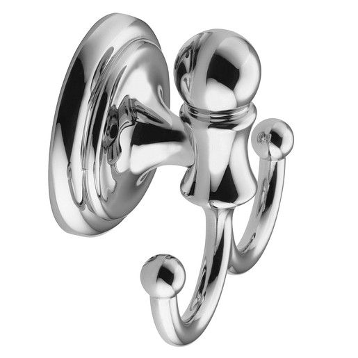 Traditional Chrome robe hook
