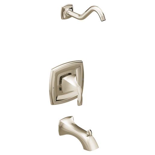 Voss Polished nickel Tub/Shower