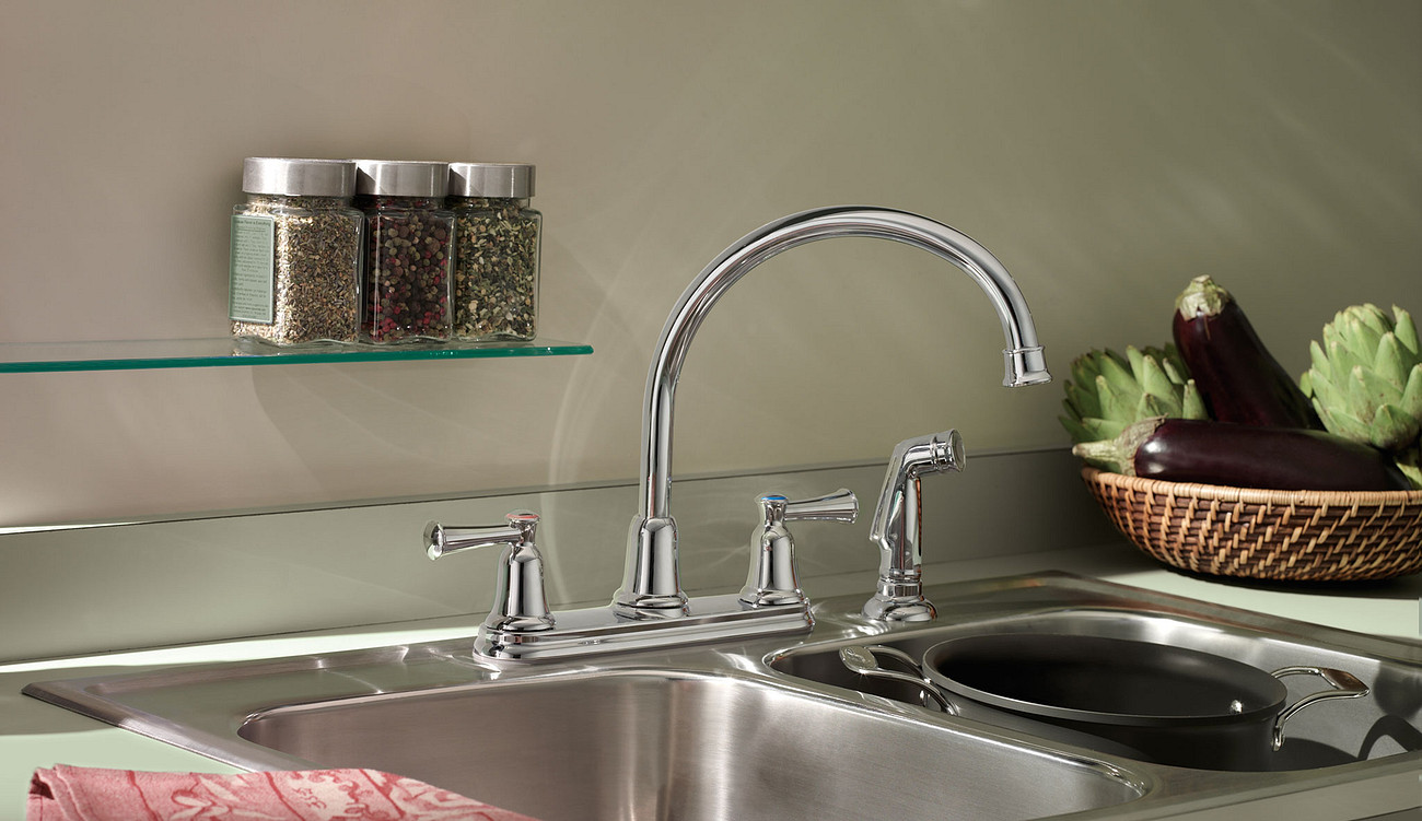 Traditional multi-family kitchen faucets