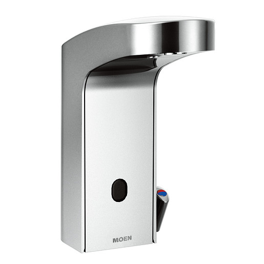 M-POWER Chrome one-handle sensor-operated lavatory faucet
