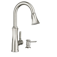Lizzy Spot Resist Stainless One-Handle Pulldown Kitchen Faucet