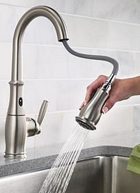 Reflex faucet technology. Designed to put itself away.