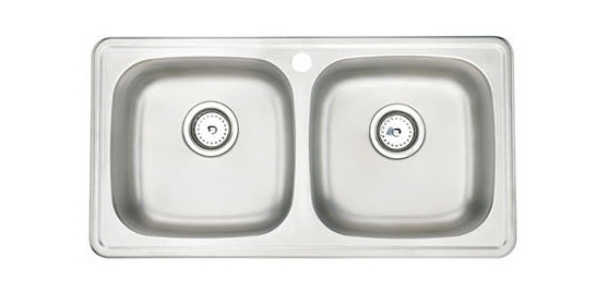 Moen Sink Double Equal Bowl
