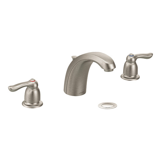 M-BITION Classic brushed nickel two-handle lavatory faucet