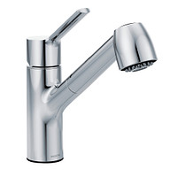Method Chrome One-Handle Pullout Kitchen Faucet