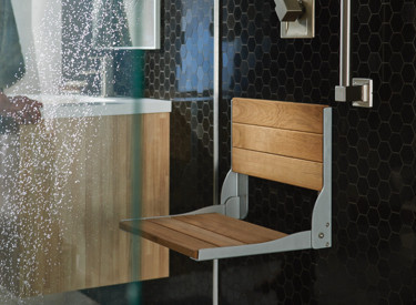 Home Care Collection Shower Seat Open