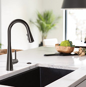 Installing the new faucet