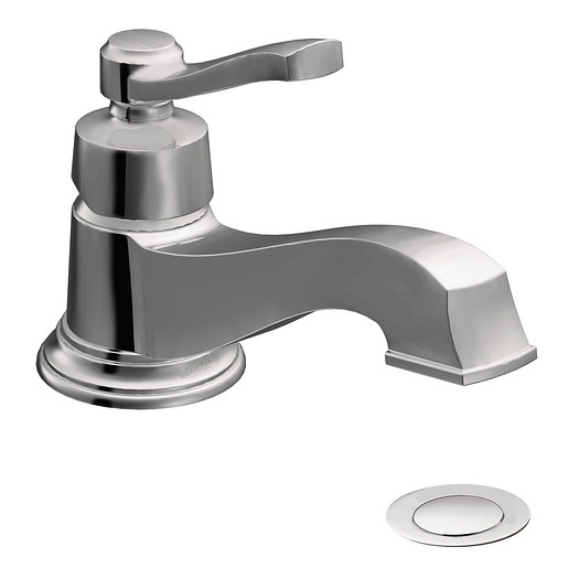 S6202 - Rothbury Chrome One-Handle Low Arc Bathroom Faucet