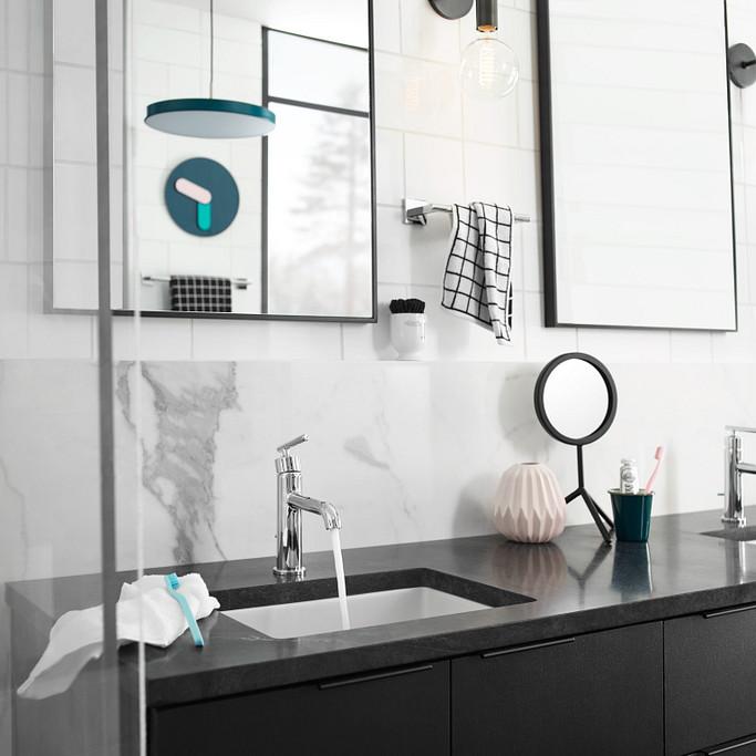 Gibson Chrome One-Handle High Arc Bathroom Faucet