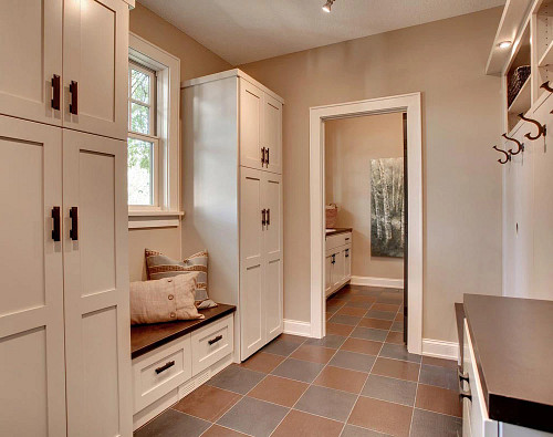 A mudroom makes for an excellent addition to any home