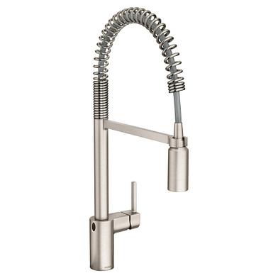 Moen Align MotionSense Wave Spot Resist Stainless Pulldown Kitchen Faucet