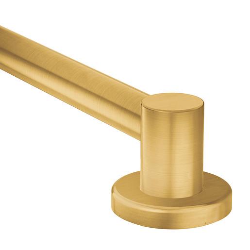 """Align Brushed gold 24"""" Designer Grab Bar"""