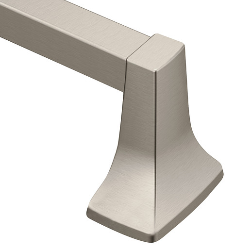 "Contemporary Brushed nickel 18"" Towel Bar"