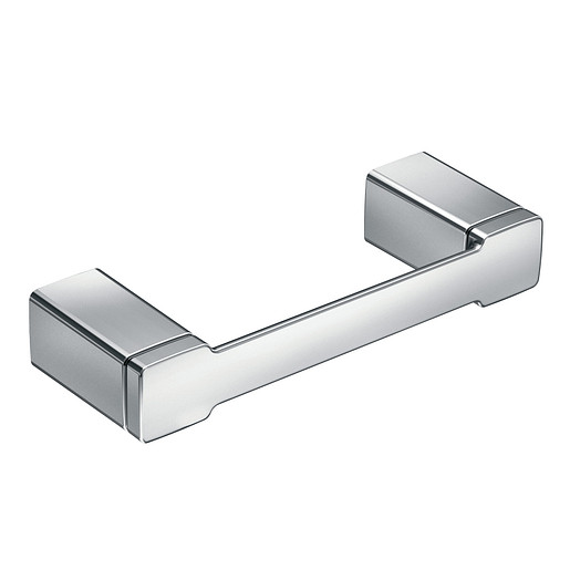 90 Degree Mason Chrome Double Paper Holder (3 Mounting Posts, Rollers not included)