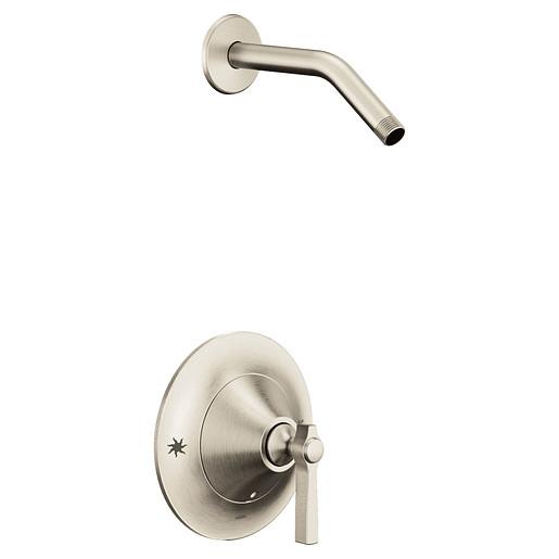 Flara Brushed nickel Moentrol® shower only