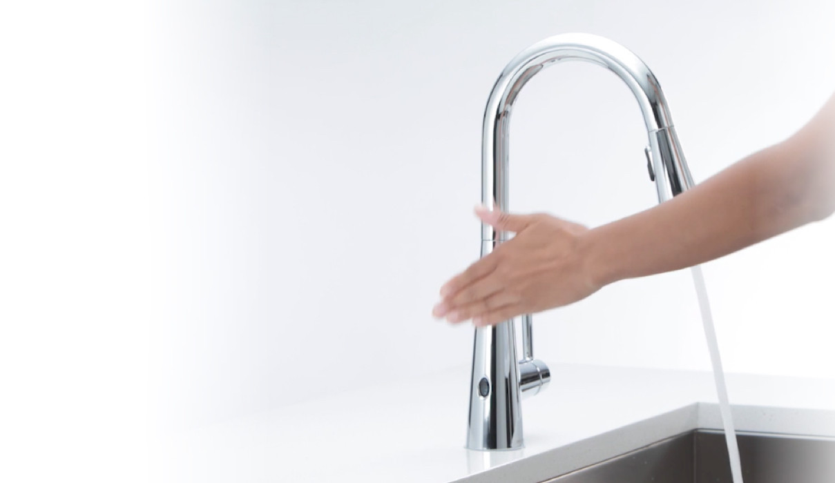 Moen MotionSense™ Touchless Kitchen Faucets
