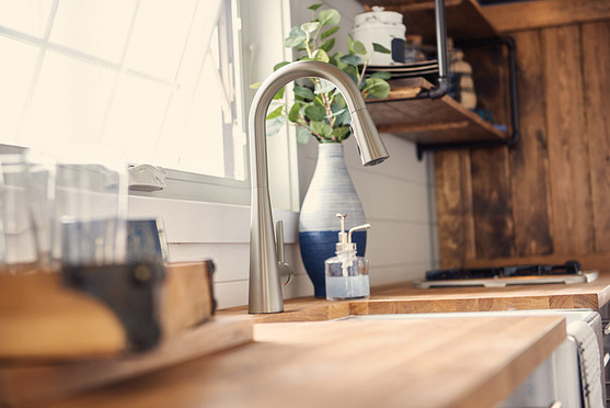 Moen best selling SpotResist™ finish offers longevity, quality, durability long after instillation