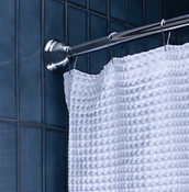 Shower Curtain Rods Closeup