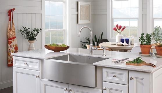 Créez une cuisine moderne au style champêtre