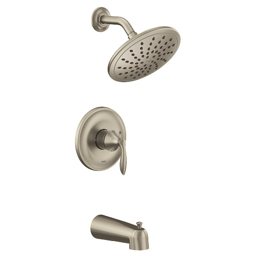 Eva Brushed Nickel M-CORE 2-Series RS Tub/Shower