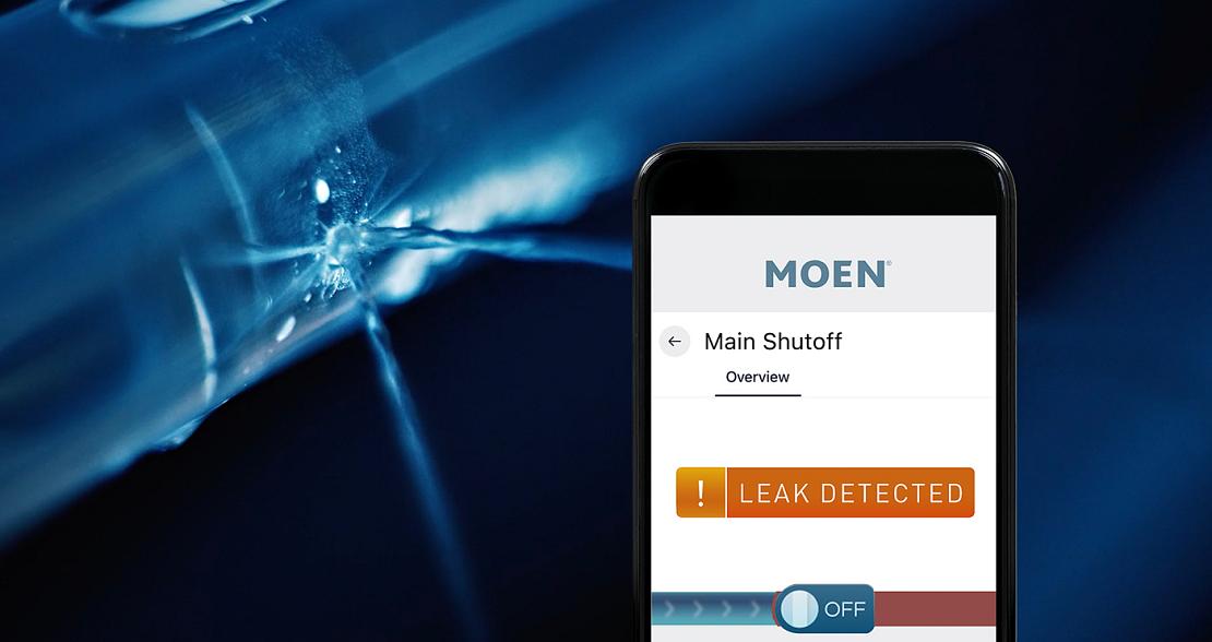 Flo by Moen Smart Water Security