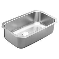 """1800 Series 30-1/2"""" x 18-1/4"""" stainless steel 18 gauge single bowl sink"""