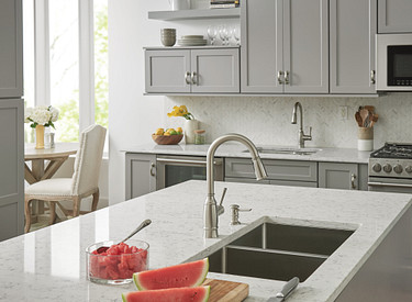 Bayhill Spot Resist Stainless Kitchen Faucet