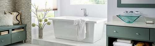 Belfield Tub Filler Brushed Nickel