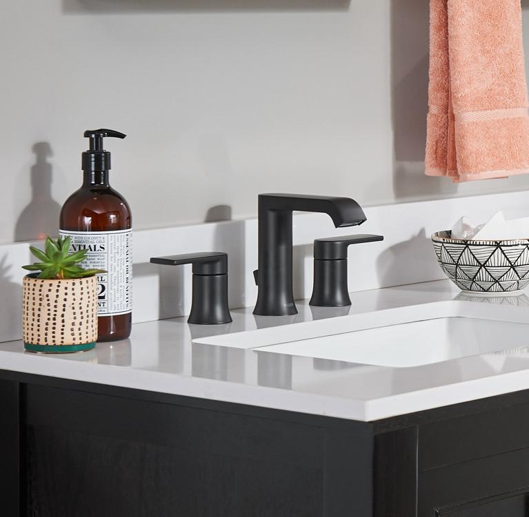 Robinet pour salle de bains moderne