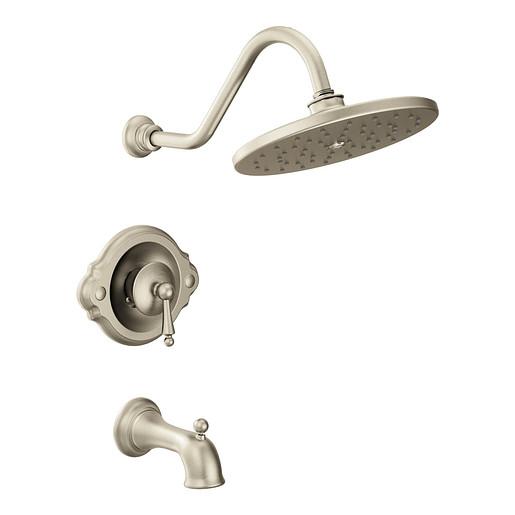 Waterhill Brushed nickel Posi-Temp® Tub/Shower