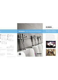 M-Dura™ Manual Flush Valve Brochure