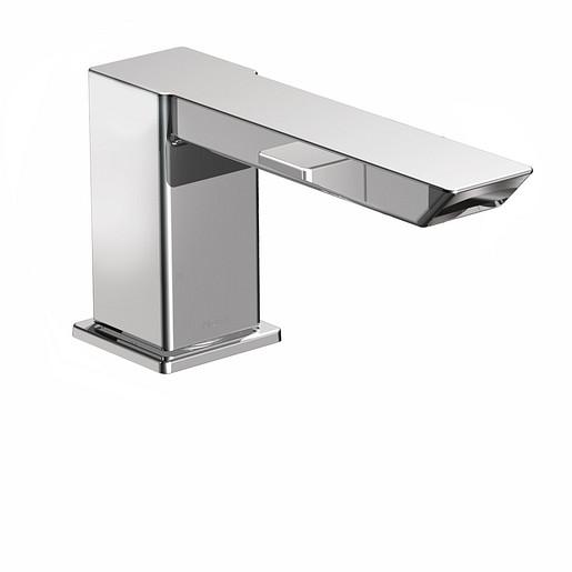 90 Degree Chrome high arc roman tub faucet includes IoDIGITAL® technology