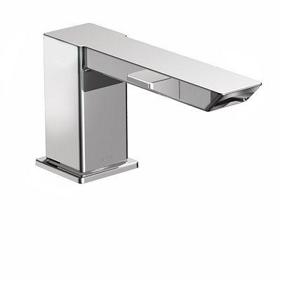 90 Degree Chrome high arc roman tub faucet includes IoDIGITAL® technology  -- TS9031 -- Moen