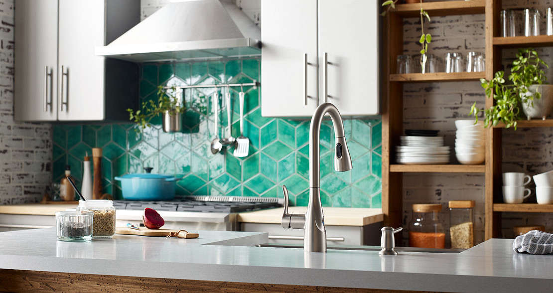 Add primary, secondary, and accent colors to your kitchen aesthetic