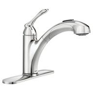 Banbury Chrome One-Handle Pullout Kitchen Faucet
