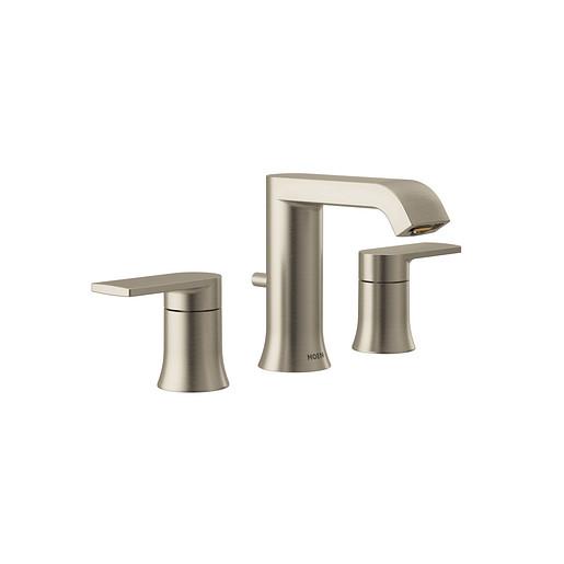 Genta Brushed Nickel Bathroom Faucet