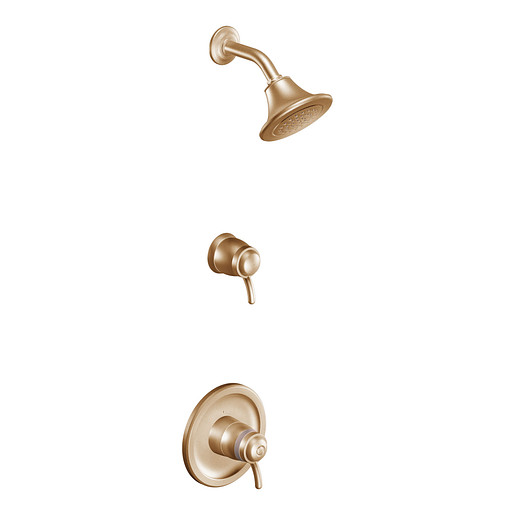 Icon Brushed bronze ExactTemp® shower only
